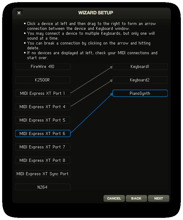 RMS Keyboards<sup>®</sup> Manual - Setup